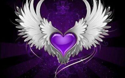 Flying Purple Love